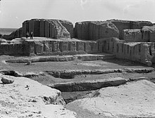 Iraq. Kish. (Tel-Uhaimir). The ruling city immediately after the deluge. The ancient ruins showing extensive remains LOC matpc.16176.jpg
