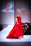 Isabelle Maréchal wearing Anne de Shalla - Heart and Stroke Foundation - The Heart Truth celebrity fashion show - Red Dress - Red Gown - Thursday February 8, 2012 - Creative Commons.jpg