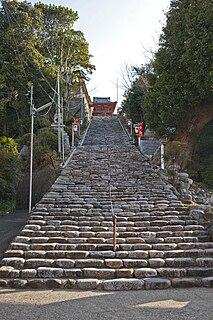 Isaniwa Shrine Shinto shrine in Ehime Prefecture, Japan