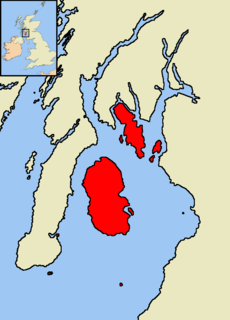Islands of the Clyde Scottish island group