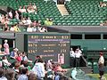 Isner-Mahut score board on court 16.jpg