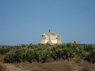 Capo Passero - The fort of Capo Passero