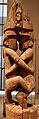 Isole salomone, isola makira, palo da casa cerimoniale o sacro deposito delle canoe, xvii sec. 03.JPG