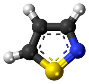 Isothiazole - Image: Isothiazole 3D balls