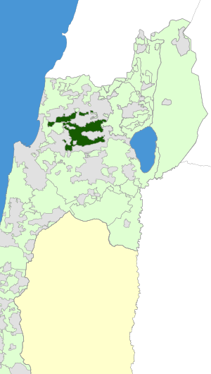 Israel Map - Misgav Regional Council zoomin.svg
