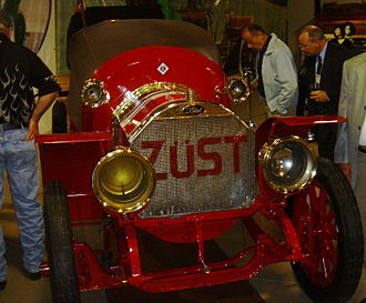 Zust - The 1906 Züst which took third place in the 1908 Race Around the World.