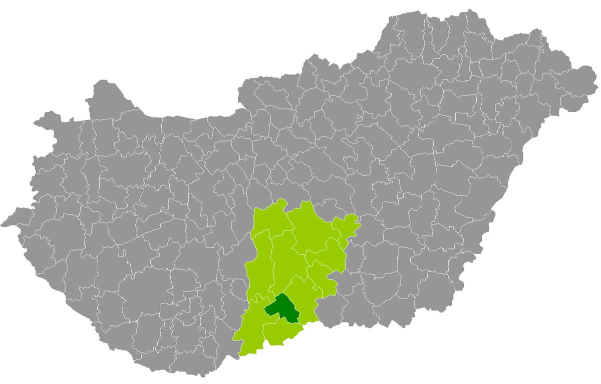 jánoshalma térkép Jánoshalmai járás – Wikipédia jánoshalma térkép