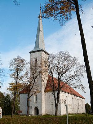 Jõhvi - Image: Jõhvi church