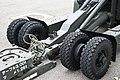 JASDF BL-4 bomb lift truck front wheels at Komatsu Air Base September 17, 2018.jpg