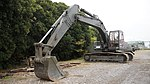 JASDF Excavator(Kobelco, 44-7013) at Tsuiki Air Base November 26, 2017 04.jpg