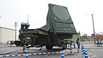 JASDF MIM-104 Patriot PAC-2 Radar Set(49-3168) left front view at Kasuga Air Base November 25, 2017.jpg