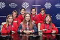 JESC 2018 partisipants. Anna Filipchuk with her team (Russia) (3).jpg