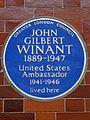 JOHN GILBERT WINANT 1889-1947 United States Ambassador 1941-1946 lived here.jpg