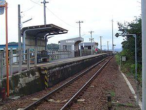 Shimogiri Station - Shimogiri Station in September 2004