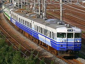 Uetsu Main Line - Image: JRE 115 nigata
