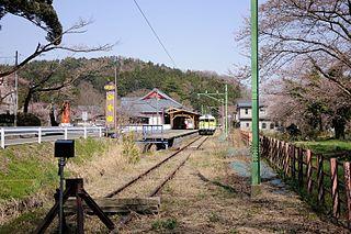 Yahiko Line railway line in Niigata prefecture, Japan