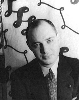 Jack Carter (actor) - Jack Carter in April 1936, photographed by Carl Van Vechten