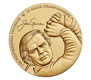 Jack Nicklaus - Congressional Gold Medal