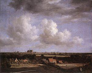 Vue de Haarlem du Nord-Ouest