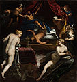 Jacopo Tintoretto - Hercules Expelling the Faun from Omphale's Bed - Google Art Project.jpg