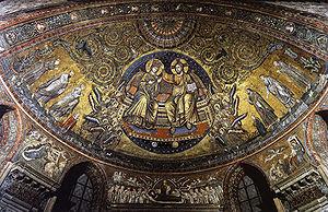 Jacopo Torriti - Coronation of the Virgin by Torritti.
