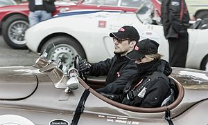 Yasmin Le Bon - Yasmin Le Bon and David Gandy - 2013 Mille Miglia