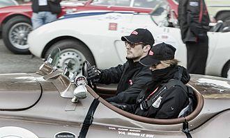 Yasmin Le Bon - Yasmin Le Bon and David Gandy - 2013 Mille Miglia
