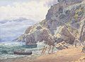 Jakob Alt - Das Kapuzinerkloster bei Amalfi - 1837.jpg