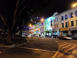 Jalan Tuanku Abdul Rahman - Image: Jalan TAR at night, 23 Aug 2014 (1)