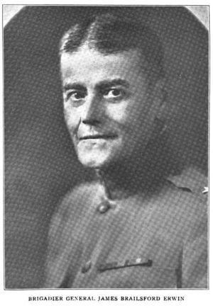 James Brailsford Erwin - Image: James Brailsford Erwin in the Annual Report of the United States Military Academy (1925)