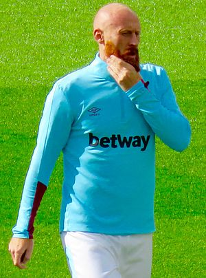 James Collins (footballer, born 1983) - Collins with West Ham United, October 2016