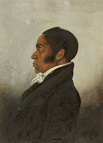 James Forten - portrait of James Forten, c.1834, probably by Robert Douglass, Jr.