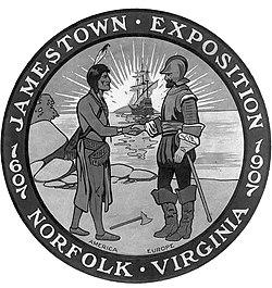 Logotipo de Jamestown 1907.jpg