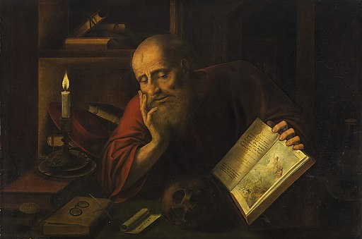 Jan Massys - St Jerome