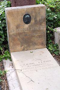 Jan Niecisław Baudouin de Courtenay's grave.JPG