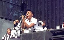Janelle Monáe. Made in America 2012. September 2012. Philadelphia.