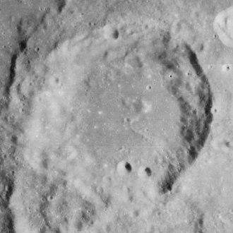 Jansky (crater) - Lunar Orbiter 4 image