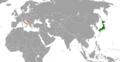 Japan Montenegro Locator.png