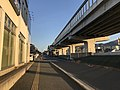 Japan National Route 202 and Fukuoka Express Circular Route near Noke Station.jpg