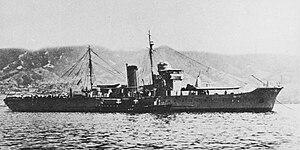 Tsubame-class minelayer - Image: Japanese minelayer Kamome 1929