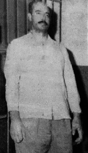Jassem Alwan - Alwan during his military trial, 1963