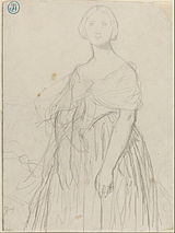 Jean-Auguste-Dominique Ingres - Sketch for Madame Moitessier - Google Art Project.jpg
