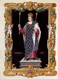 Король Франции Карл VIII