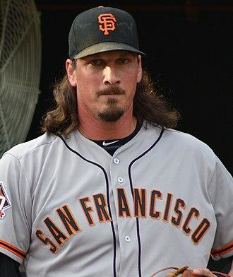 Jeff Samardzija - Samardzija with the San Francisco Giants in 2018