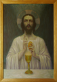 Jesus mit Brot und Wein von Wilhelm List.png