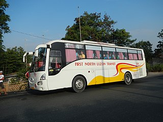 First North Luzon Transit Bus company in the Philippines
