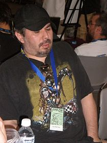 Joe Benitez at Super-Con 2009 1.JPG