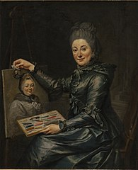 Portrait of the Artist's Daughter Elisabeth, Married Lampe