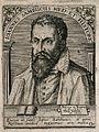Johannes Sambucus. Line engraving by T. de Bry, 1650. Wellcome V0005194.jpg