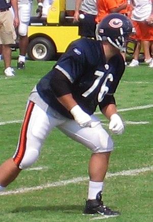 John Tait (American football) - Image: John Tait Chicago Bears